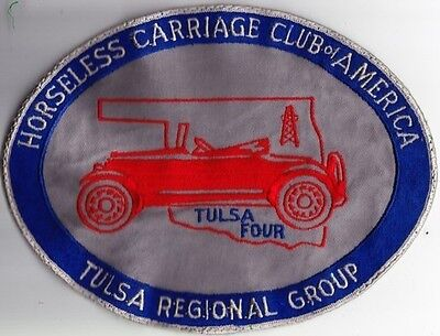 Tulsa Region Horseless Carriage Club of America Jacket Patch
