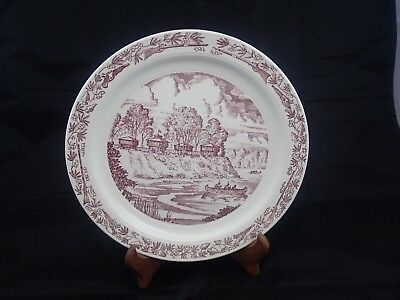 Early Defiance OHIO 1944 Souvenir Plate Ft Fort Defiance 1794 - 1944 150 Years
