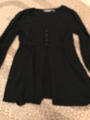 New Look Maternity Cardigan Black 3/4 Sleeves Size 14