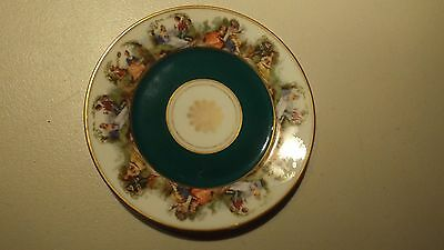 Collectable China Dish/Plate,  Courting Couples Border Design,