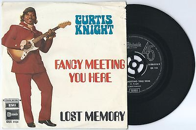"7"" CURTIS KNIGHT Fancy/Lost memory (Emi 69 ITALY) freakbeat psych funk RARE EX!"