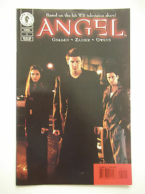 Angel Comic # 2 - December 1999 - Photo Cover - Dark Horse - Buffy Universe