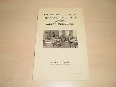 1950s Rushworth&Dreaper Music Store Islington Liverpool Guide To Store+Services