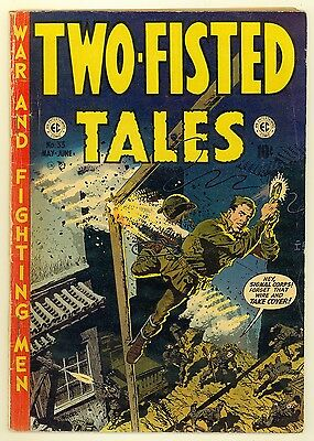 Two-Fisted Tales #33 (1953) Very Good 4.0 ~ Wally Wood ~ War ~ EC Comics
