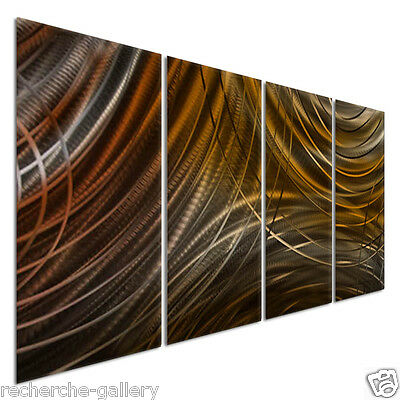 Connecting Rings III Metal Wall Art by Ash Carl Contemporary Home Decor