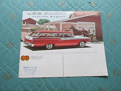 1120x  1959 Ford Station Wagons sales brochure
