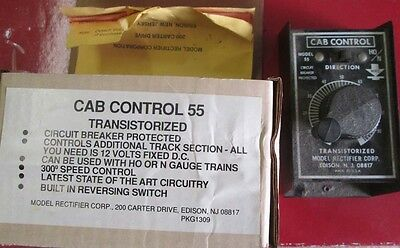 Transistorized Cab Control 55 (Hand Held Controller) by MRC