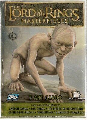 2006 Topps Lord of the Rings Masterpieces Card Set (90 cards)