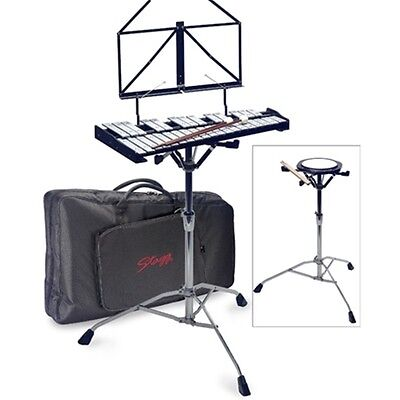 Stagg BELL-SET 32 Metallophone with Practice Pad and St