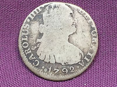 T2: World Coin Bolivia 1792 2 Reales