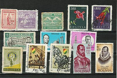 LATIN AMERICA. Nice selection of used stamps. Very good to excellent condition.