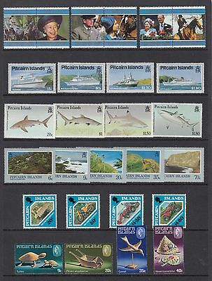 PITCAIRN ISLANDS, 6 SETS, Mint Never Hinged