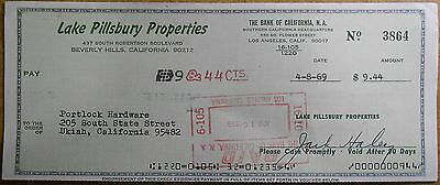 Jack Haley The Wizard of Oz Tin Man - Signed Check Auto