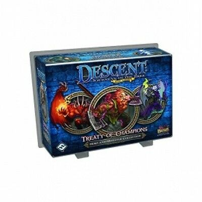 Descent: Journeys in the Dark Second Edition Treaty of Champions Brand New