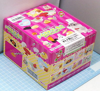 Miniatures  Hamster cake shop complete box with 8 types. - Re-ment , h#4