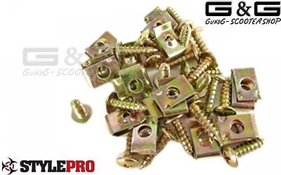 Screws Cover Screw Sheet Metal Screws Sheet Metal Nuts Fairing Brackets