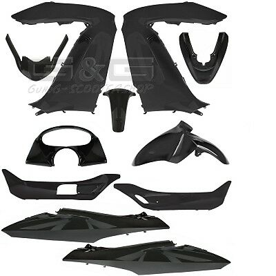 Fairing set Black for Honda PCX PC X 125 11 Pieces fairing Bodywork
