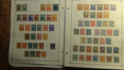 Nicaragua stamp collection on Scott International pages to '79