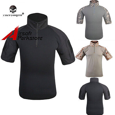 Emerson Tactical Military Combat Short Sleeve T-Shirt Paintball Airsoft S/M/L/XL