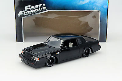 Dom's Buick Grand National Fast and Furious black 1:18 Jada Toys