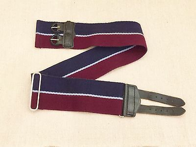 "British Army Royal Air Force Stable Belt. 37"" Waist."