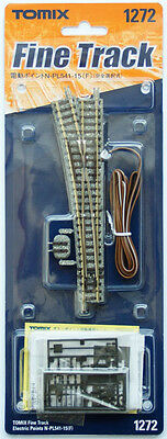 Tomix 1272 Electric Turnout N-PL541-15(F) Power-routing (selective) (N scale)