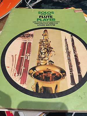Solos For Flute Player By Louis Moyse- Piano Accompaniment