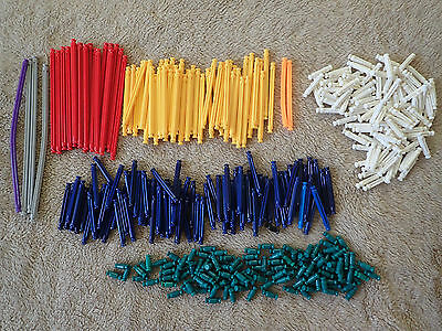 Knex large mixed lot of rods bars selection of lengths