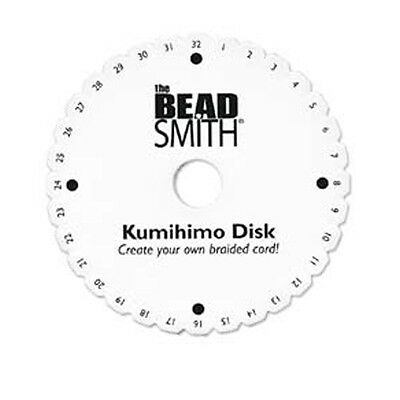 Beadsmith Kumihimo Disc 15 cm, 6 inch Round Disk only - No Instructions KD600