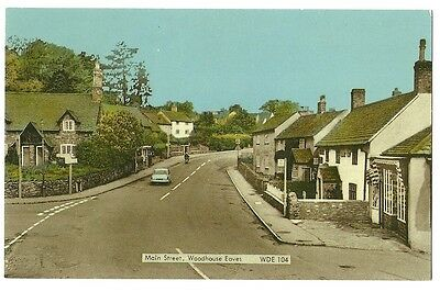 Woodhouse Eaves - a photographic postcard of Main Street
