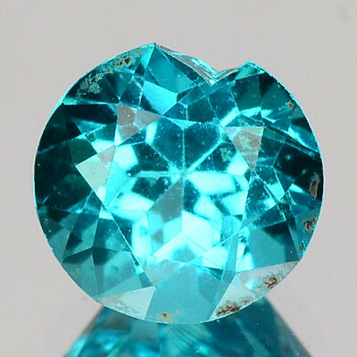 1.19 Cts Dazzling Top Quality Neon Blue Color Natural Apatite Gemstones