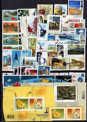 A12077/ Canada / Lot Stamps 2005 - 2006 / Mint Mnh 126€