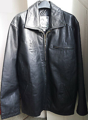 Lord Of The Rings Rotk Mens Leather Crew Jacket Weta Full Provenance - Scarce!