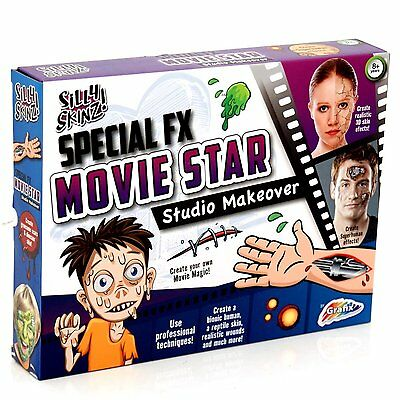 Special Effects Fx Movie Halloween Horror Face Paint Makeover Kit Set R09-0005