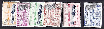 Liberia 1957 First Flight to USA  set.- Used