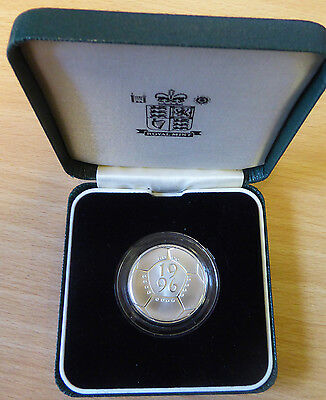 GB 1996 Silver Proof £2 Coin - A Celebration of Football . . . . . .
