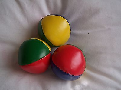 Juggling Balls, Circus, Skill, Traditional Game, Pvc, Beans