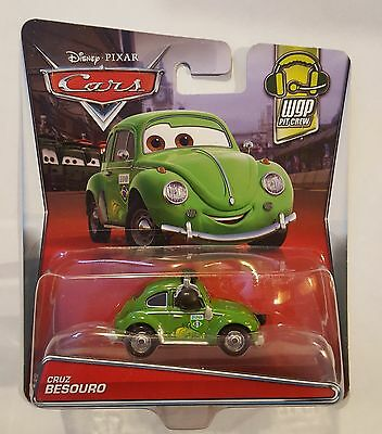 Disney Pixar Cars Cruz Besouro Hard To Find Us & International Shipping