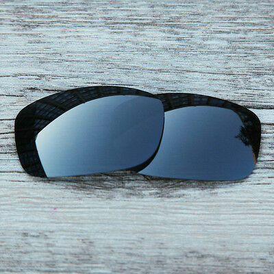 Inew Black Iridium polarized Replacement Lenses for Oakley Fives Squared