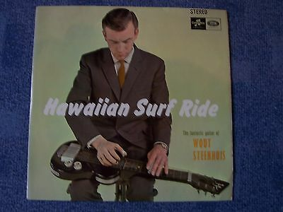 Wout Steenhuis, Hawaiian Surf Ride. 1965 Columbia Album: Paradise / Hilo + 10