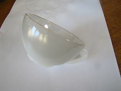 Arcopal~Harlequin~50's/60's 1XCoffee/Espresso  Cup  White