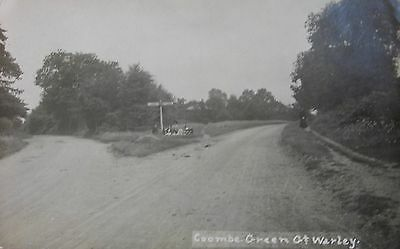 Edwardian Picnic Coombe Green Great Warley Essex 1915 Rp Pc