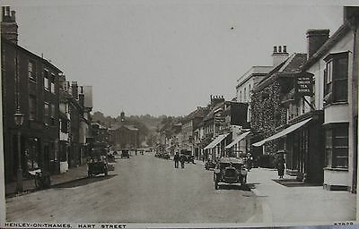 Vintage Car By The Chelsea Tea Rooms Hart Street Henley On Thames Oxon Early Pc