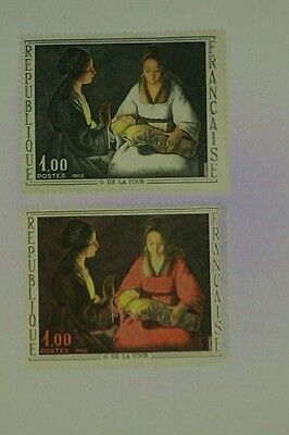 Timbres France N°1479 Robe Blanche+Normale.neufs Xx.tb