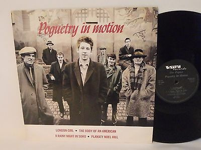"80s Rock THE POGUES poguetry in motion 1986 UK 12"" Vinyl Single"