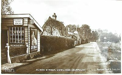 K E Choat The Stores Queen Street Cowlinge Suffolk Early Rp Pc