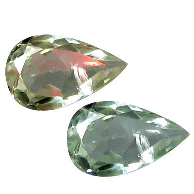 0.41 Ct Free GIL Cert Fabulous Pear 6 x 4 mm Natural Green To Red Alexandrite