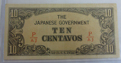 10 Centavos The Japanese Government   #64203