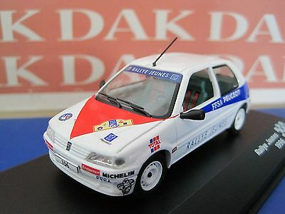 Die cast 1/43 Peugeot 106 Rally Jeunes 1996 by Ixo