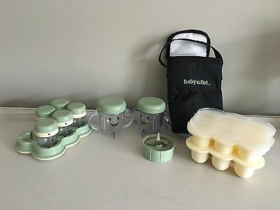 Baby Bullet Baby Food Processor Replacement Parts- Lot of Accessories